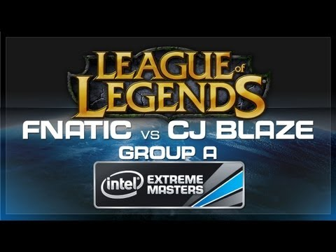 CJ Blaze vs FNATIC (LoL Group A) - IEM World Championship 2013