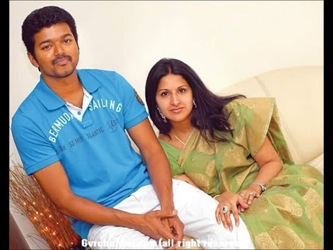 tamil actor Vijay real life official  Family Photos
