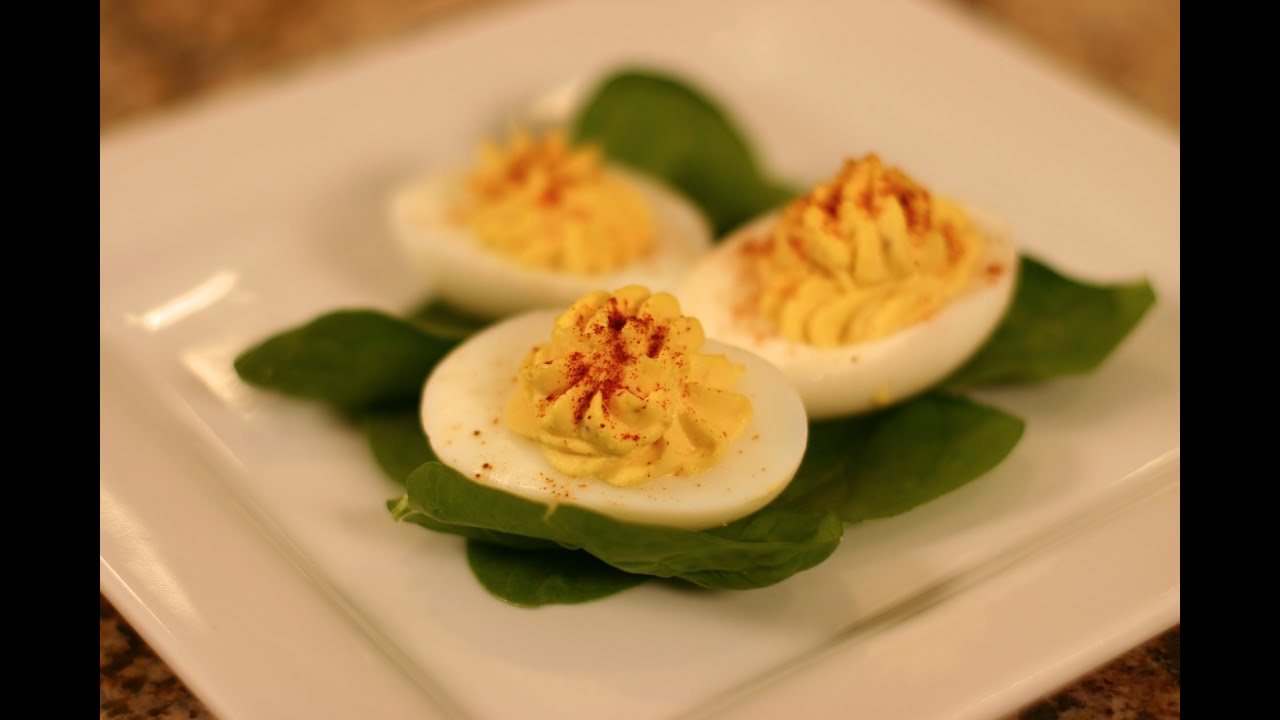 ... Delicious Deviled Eggs - Easy and Delicious Stuffed Eggs - YouTube