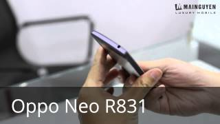 Review Oppo Neo R831