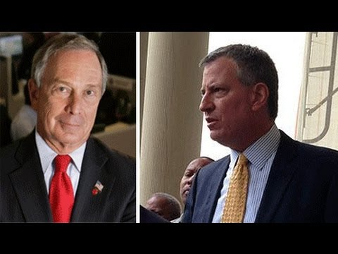 Bloomberg & the 1% vs. Bill de Blasio (with John Nichols)
