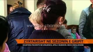 Sezoni i gripit, dhjetra pacient n Urgjenc  Top Channel Albania  News  L