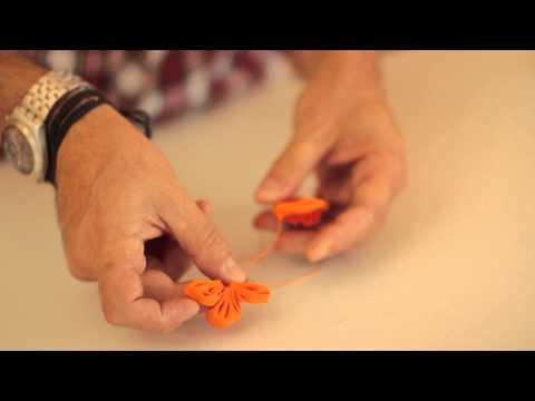 Flores de fuxico com Marcelo Darghan