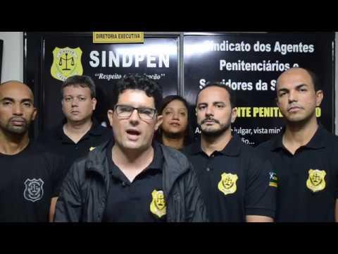 Mensagem do Sindpen - Dia do Agente Penitenciário 04/07/17