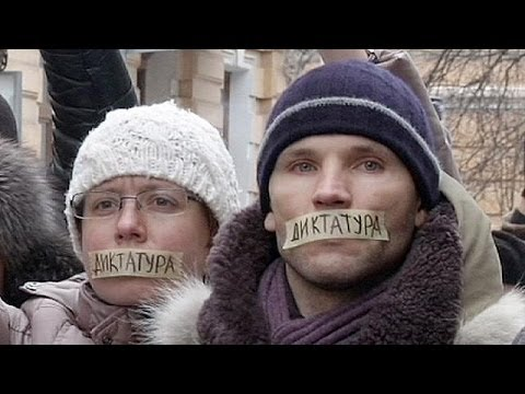 Ukraine: Protesters rally against 'dictatorial' anti-demo laws