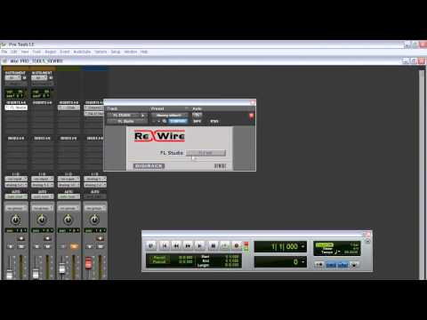 Pro Tools and FL Studio Rewired