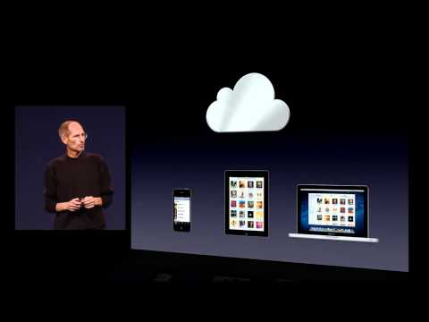 Apple iCloud - iTunes in the Cloud - 2011 WWDC Keynote