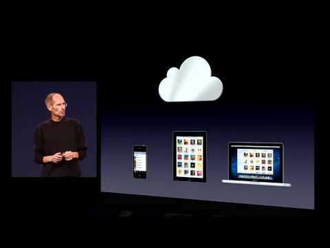 Apple iCloud - iTunes in the Cloud - 2011 WWDC Keynote