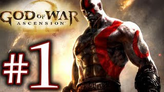 God of War Ascension Walkthrough Part 1 1080p HD - First 30 Minutes!