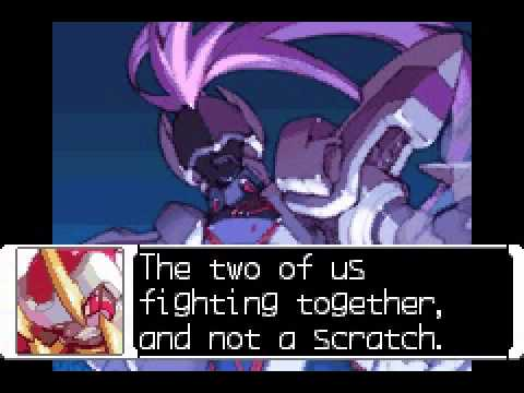 Megaman Zero 3 - Megaman zero 3 (first battle with Omega) - User video