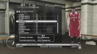 NBA 2K15 PS4 Road To The NBA Draft JT Wagner Creation