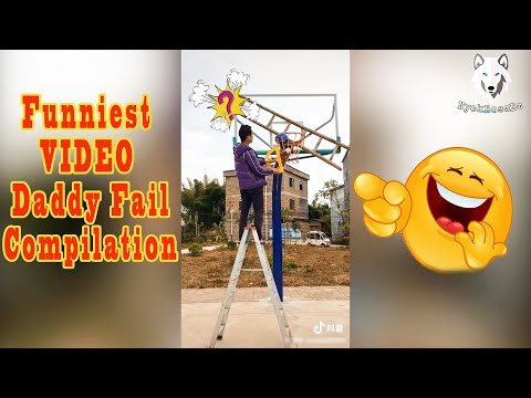 Funniest Video Daddy and Soon The Ball Stuck Fail Compilation 2019 🤣