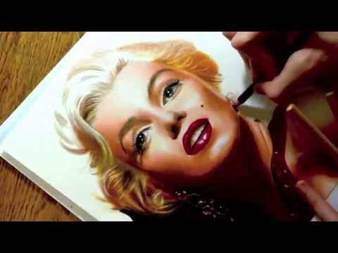 Drawing Marilyn Monroe