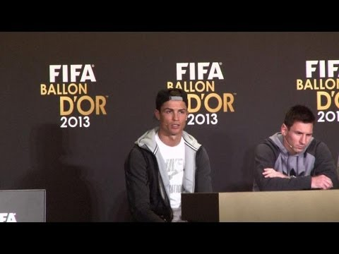 Cristiano Ronaldo wins 2013 Ballon d'Or