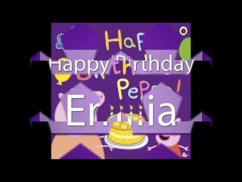 Happy Birthday Emilia Saccone-Joly