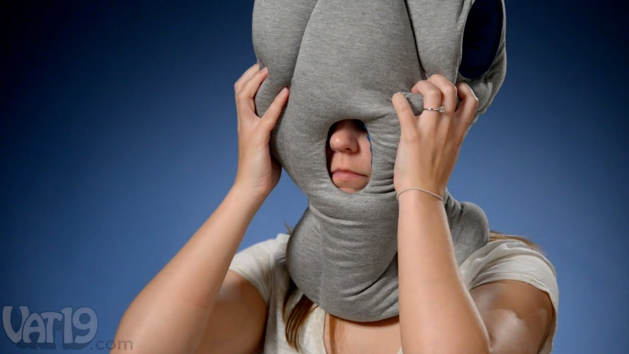 Ostrich Pillow For Napping Anywhere Youtube