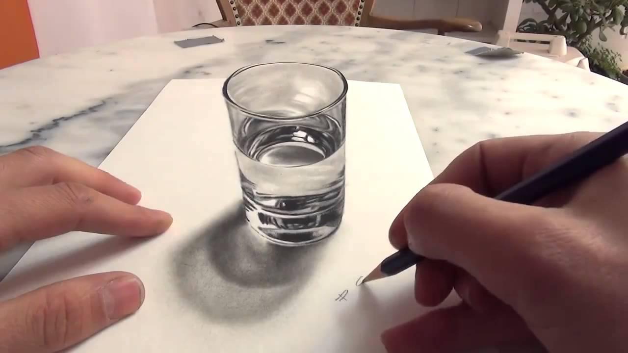 Рисуем водой на бумаге