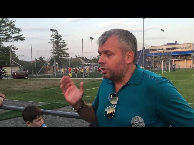 Григорій Козловський після матчу Рух - Арсенал