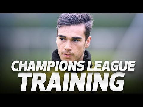 SPURS TRAIN AHEAD OF APOEL CHAMPIONS LEAGUE CLASH