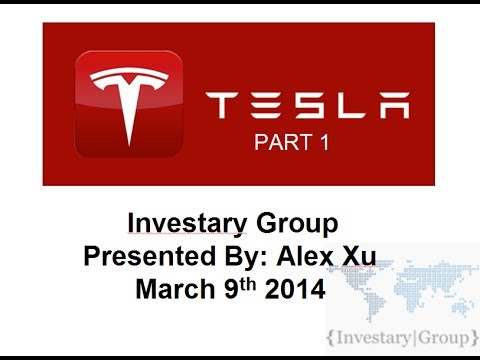 Stock of the Decade: Tesla Motors (TSLA) Year 2 Stock Presentation Part 1