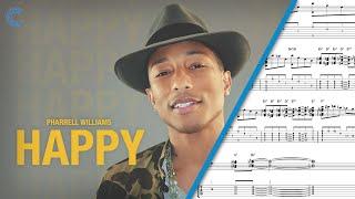 Tenor Sax Happy Pharrell Sheet Music, Chords, & Vocals