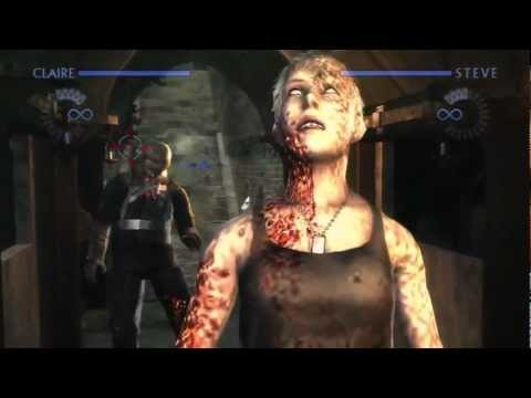 Resident Evil: The Darkside Chronicles HD Collection Co-op - Alexia Ashford - Part 13