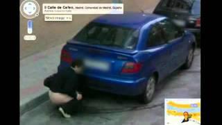 Las fotos más divertidas de Google Street Wiew