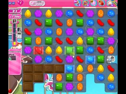 How to beat Candy Crush Saga Level 135 - 1 Stars - No Boosters - 38
