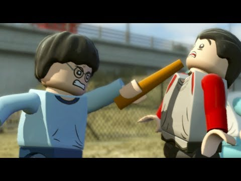 LEGO Harry Potter Years 5-7 Walkthrough Part 1 - Year 5 - 'Dark Times'