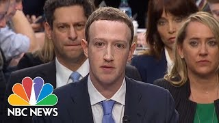 'I'm Sorry': Facebook CEO Mark Zuckerberg Delivers Opening Statement At Senate Hearing | NBC News