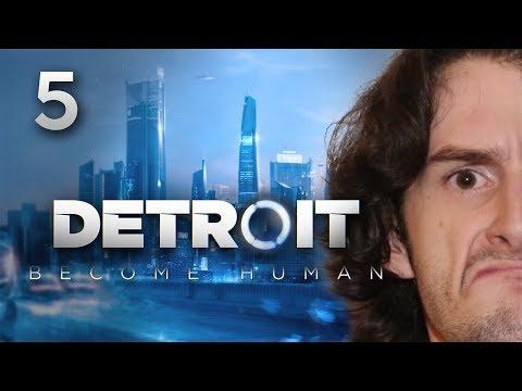 ON TRAQUE LA DÉVIANCE !!! -Detroit : Become Human- Ep.5 avec Bob Lennon