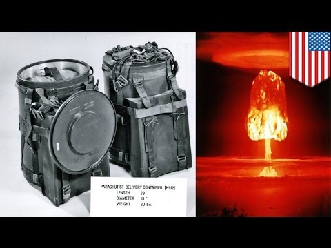 U.S. had Cold War 'backpack nukes'