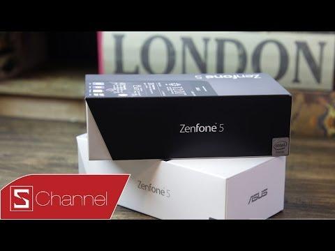 Mở hộp ASUS Zenfone 5 (A500)