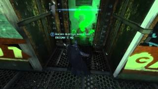"Batman: Arkham Origins Side Missions ""Enigma HQ"" #1"
