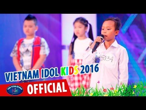 VIETNAM IDOL KIDS - THẦN TƯỢNG ÂM NHẠC NHÍ 2016 - HỒ VĂN CƯỜNG GẶP SỰ CỐ QUÊN LỜI