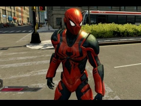 The Amazing Spider-Man 2 - Ends of the Earth Suit Showcase / Gameplay