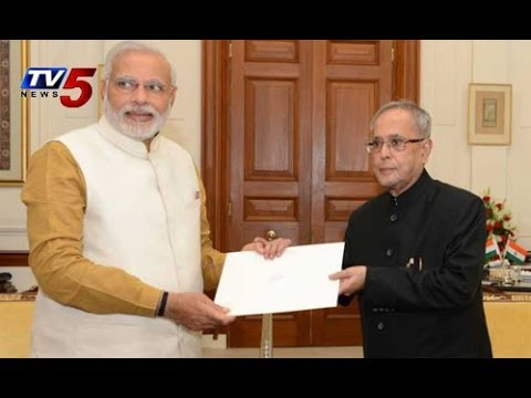 Narendra Modi to reply to President Pranab Mukherjee : TV5 News