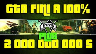 GTA 5 Tutoriel Le Mode Solo Fini A 100% + 2 000 000 000