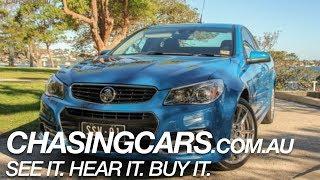 2014 Holden Ute SSV Redline Utility Review -- ChasingCars.com.au