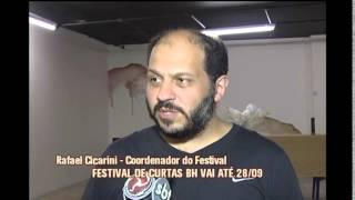 Come�a 16� Festival Internacional de Curtas em Belo Horizonte