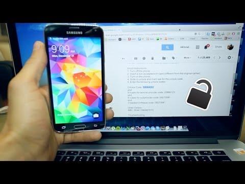 Como Liberar Un Samsung Galaxy S5 - Muy facil y simple
