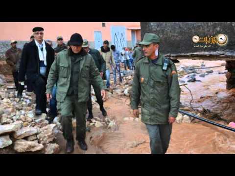 عامل الإقليم يحصي أضرار الفيضانات