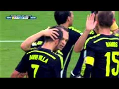 David Villa GOAL 3-0 Spain vs Australia FULL MATCH 2014 World Cup
