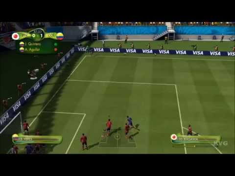 2014 FIFA World Cup Brazil - Japan vs Colombia Gameplay [HD]