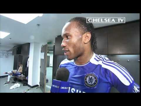 Chelsea FC - FA Cup Final 2012 Drogba post match interview