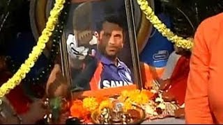 The Sachin mobile temple