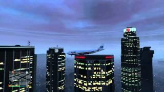 GTA V: How To LAND A JUMBO JET ON A SKYSCRAPER! Trevor Is