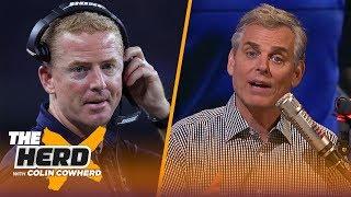 Colin Cowherd talks Jason Garrett's job status, Malcolm Butler's struggles | NFL | THE HERD