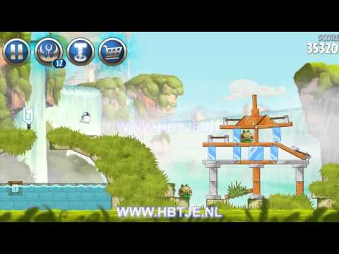 Angry Birds Star Wars 2 Naboo Invasion b1-s2 3 stars