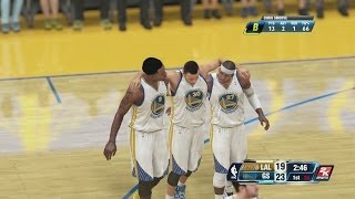 NBA 2K14 PS4 My Career Concussion Cheese